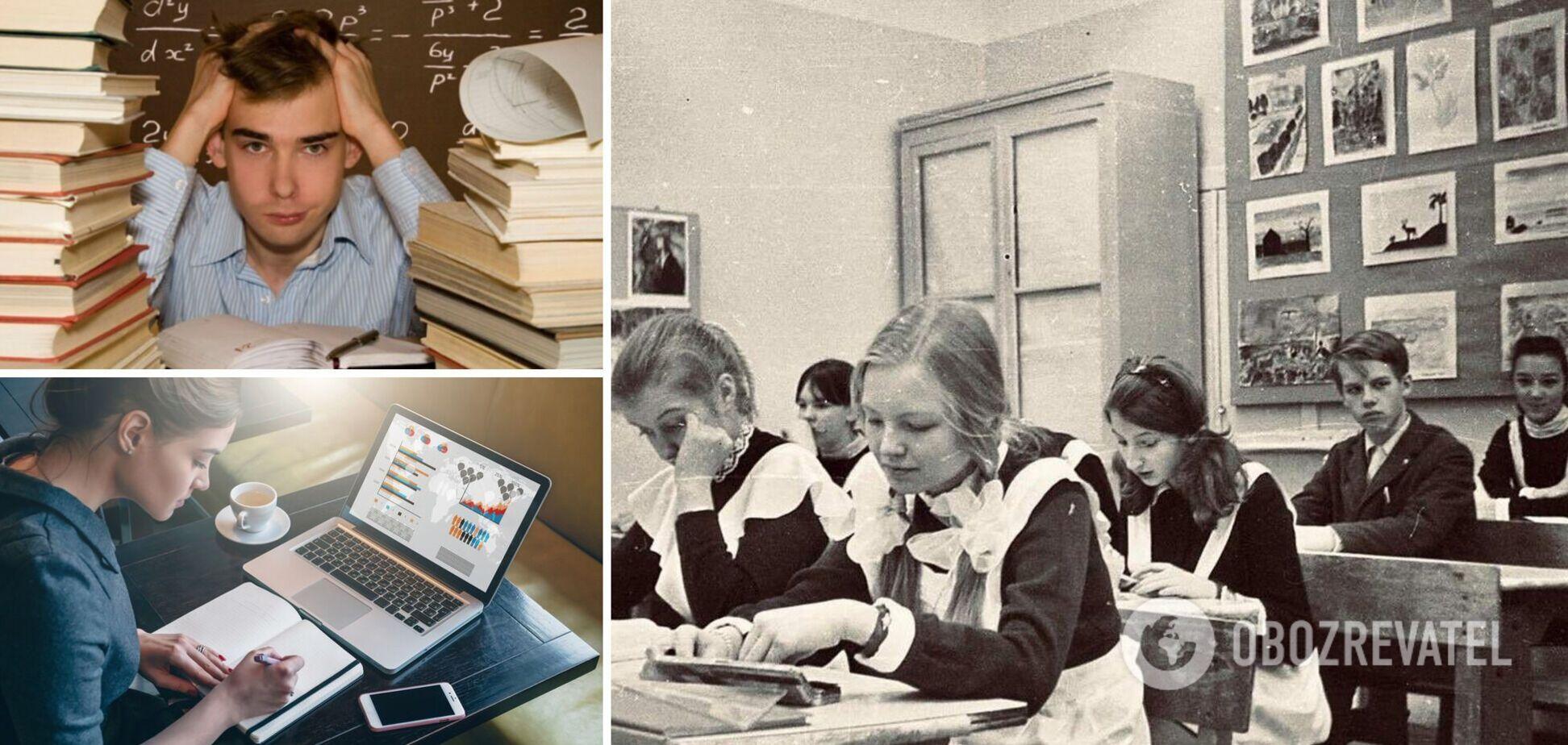 Сучасним школярам набагато легше навчатися