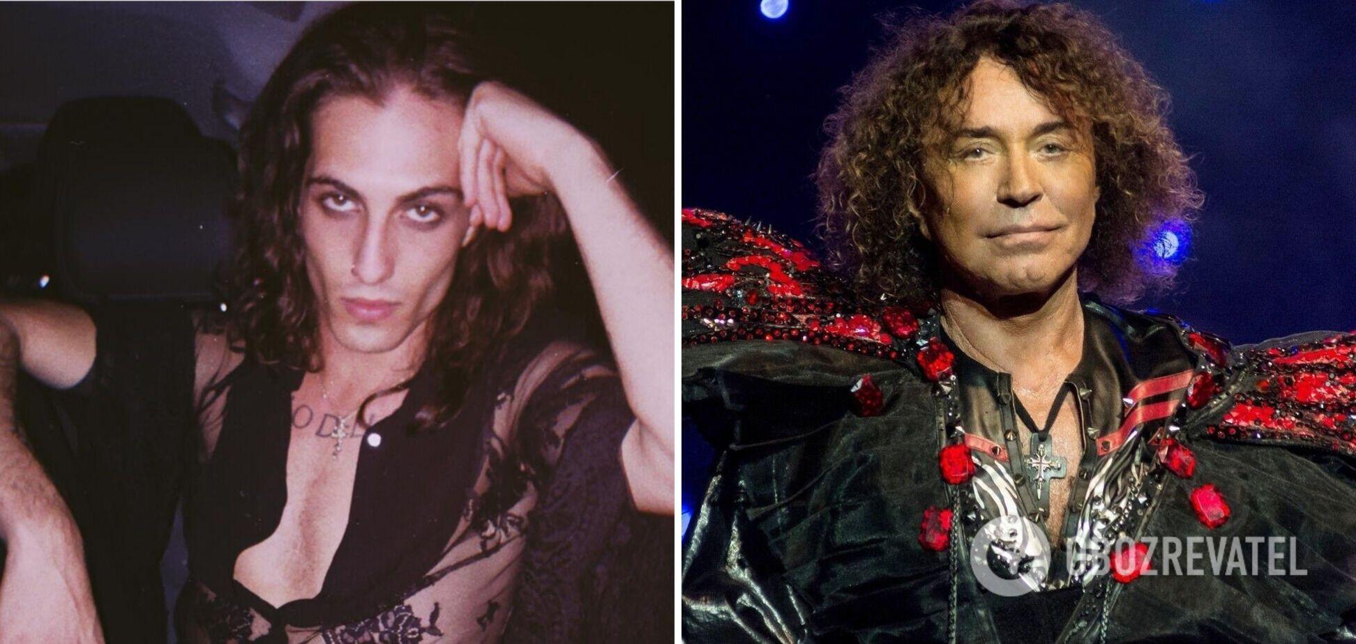 Солист Måneskin подражает Леонтьеву? В сети сравнили фото двух эпатажных певцов