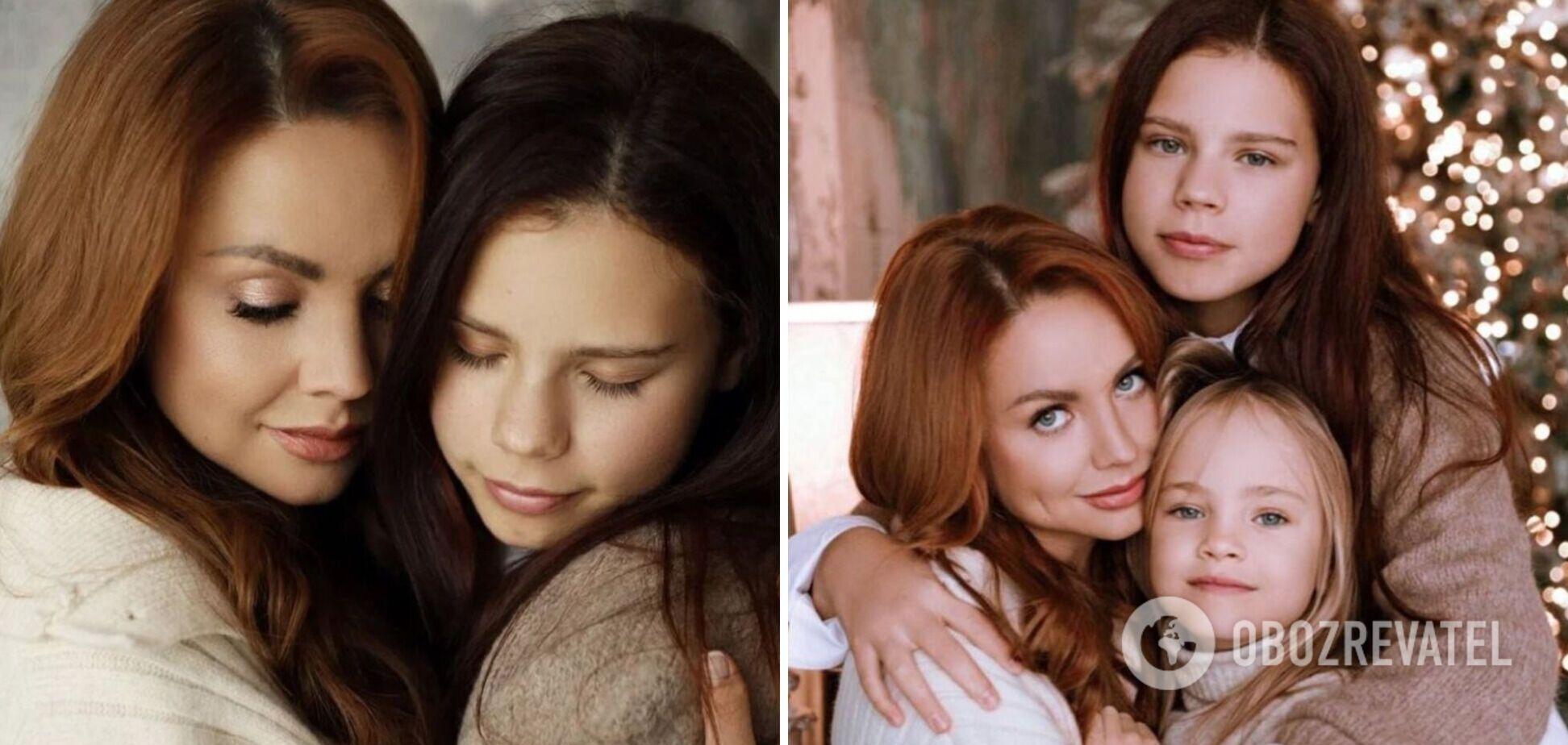Певица МакSим со своими дочерьми