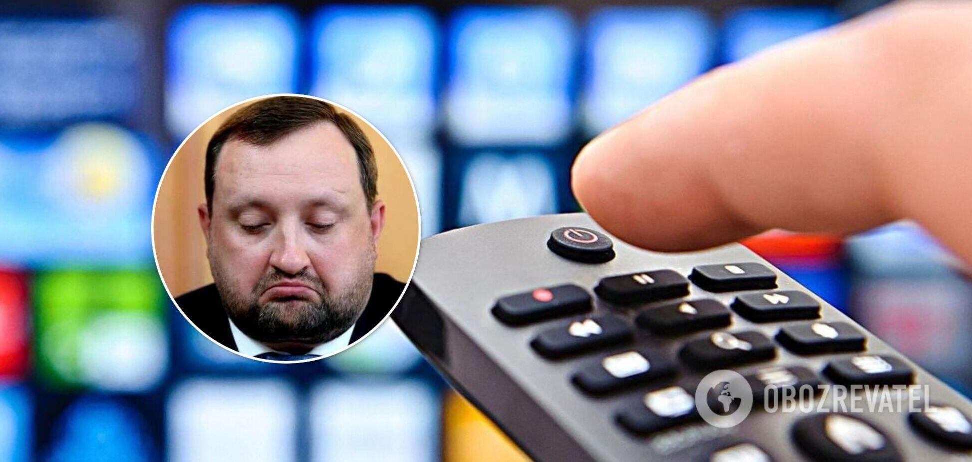У Сергія Арбузова може з'явитися власний телеканал в Україні