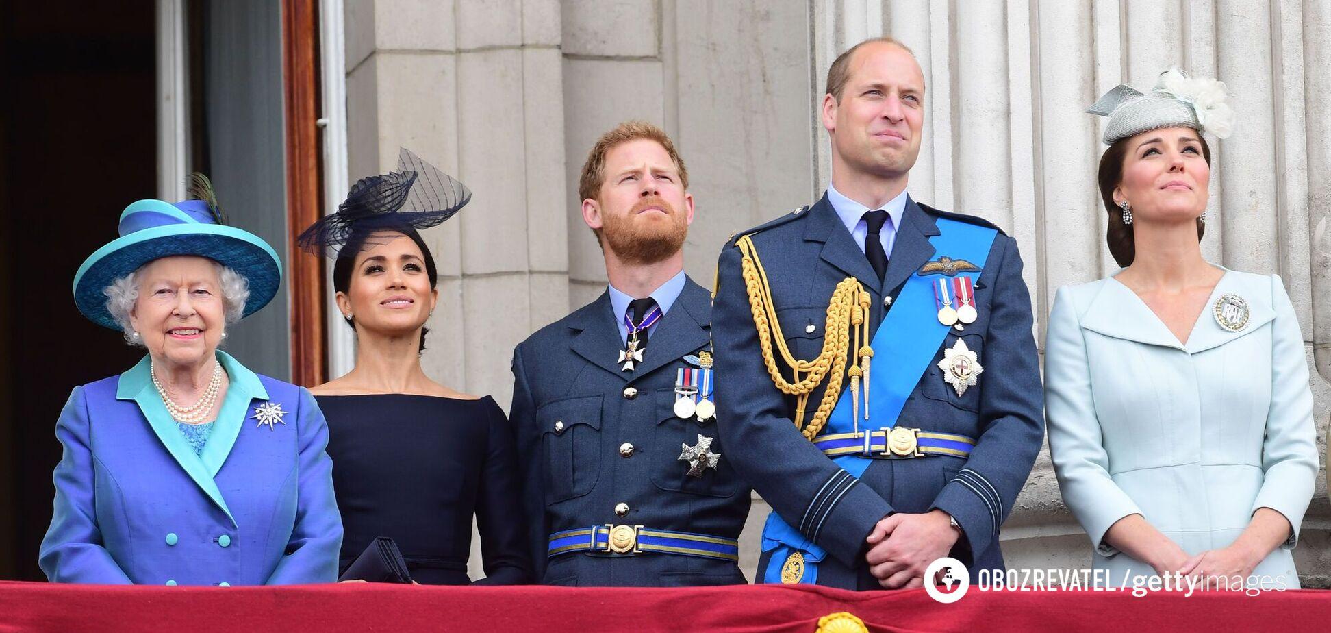 Елизавета II, Кейт Миддлтон и другие: как королевская семья поздравила Меган Маркл с 40-летием