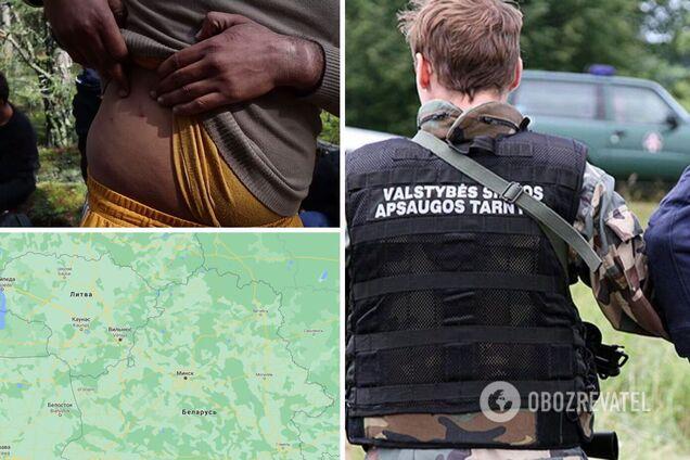 Литва начала возвращать нелегальных мигрантов в Беларусь: некоторые говорят, что их жестоко избили. Видео