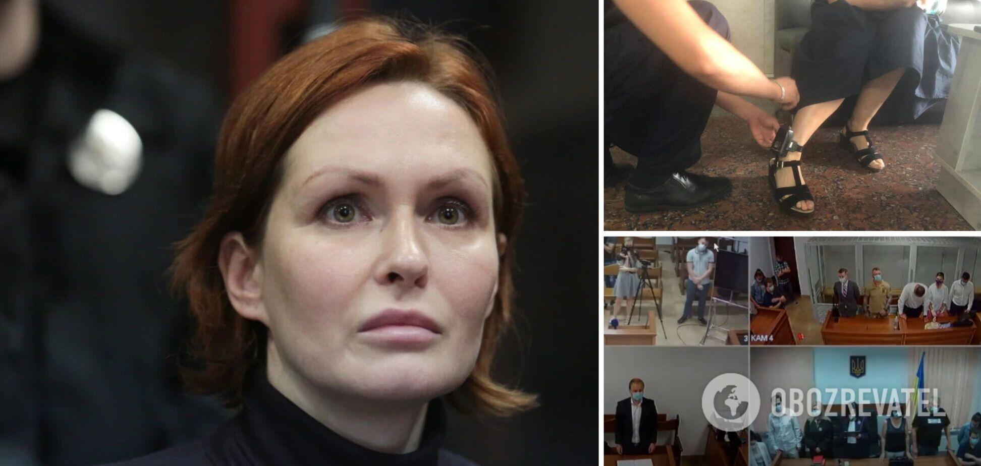 Суд змінив запобіжний захід підозрюваній у вбивстві Шеремета Юлії Кузьменко. Фото та відео