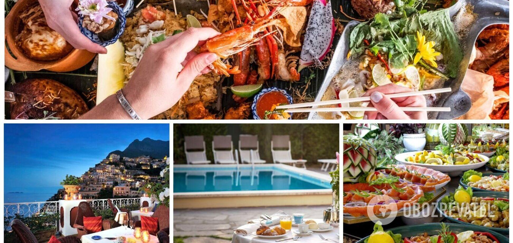 Чим годують туристів у готелях Іспанії, Франції, Болгарії та інших країн світу. Фото