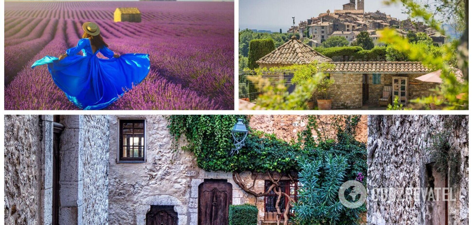 5 волшебных поселков на юге Франции, от красоты которых захватывает дух