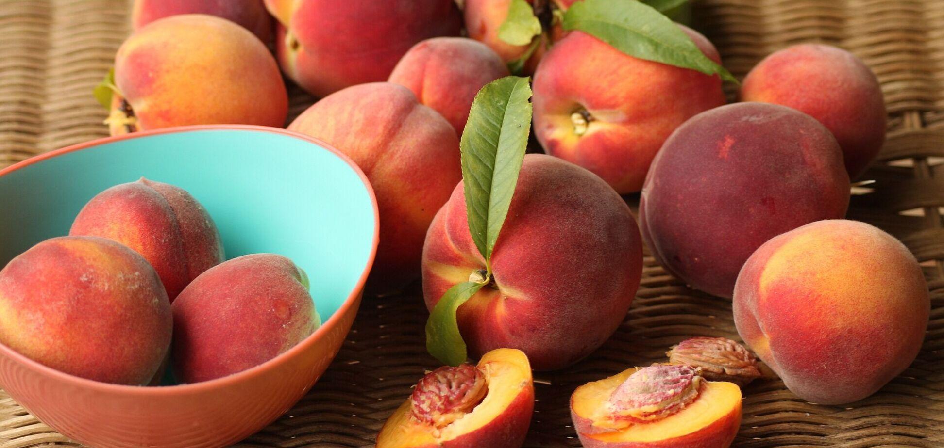 Как выбрать натуральные персики