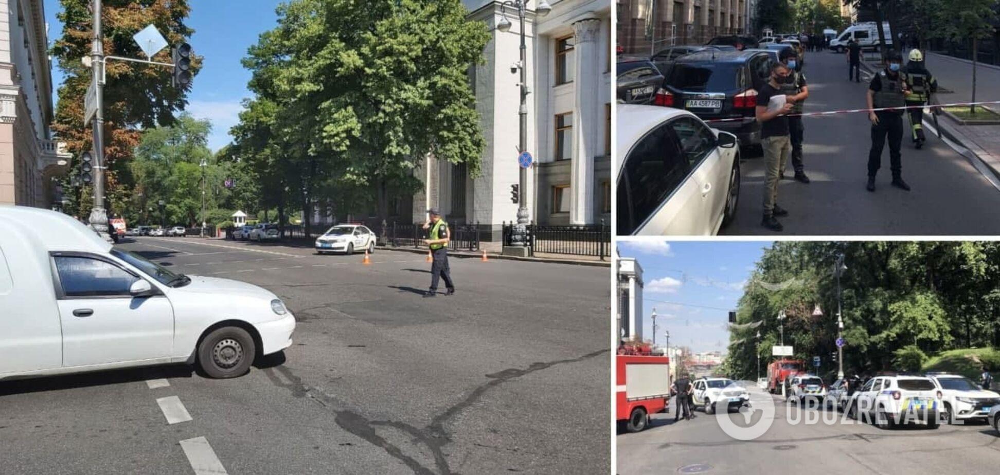 В Кабмин ворвался мужчина с гранатой и угрожает устроить взрыв: спецназ готовит штурм здания. Онлайн-трансляция