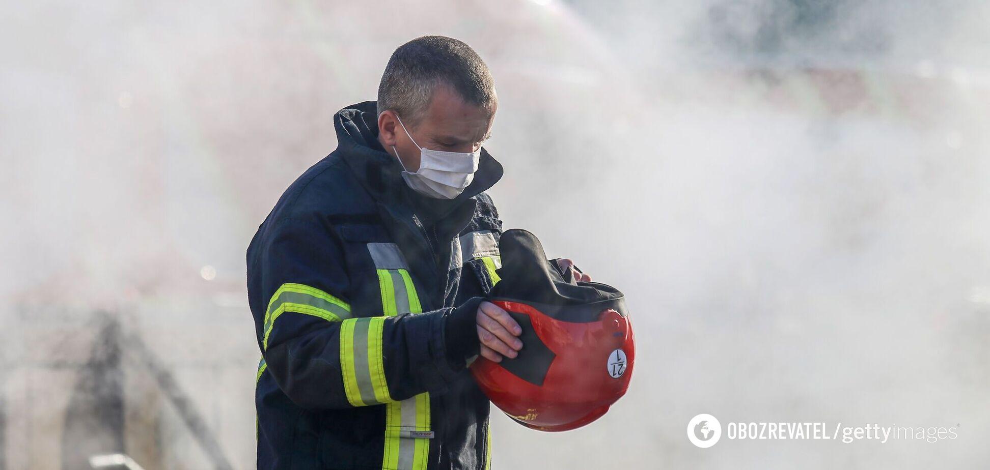 Огонь оперативно потушили спасатели