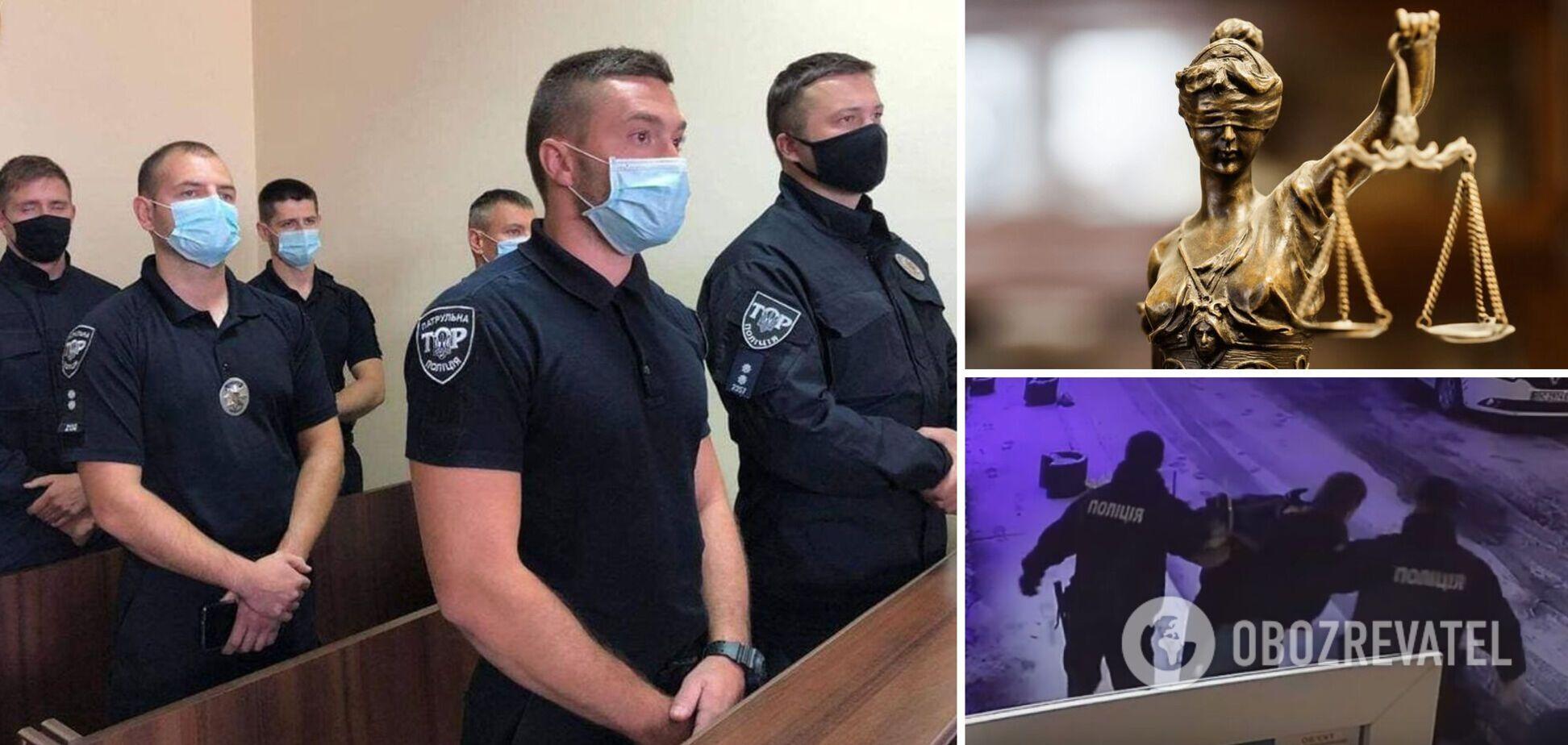 Львовских патрульных признали виновными в превышении полномочий