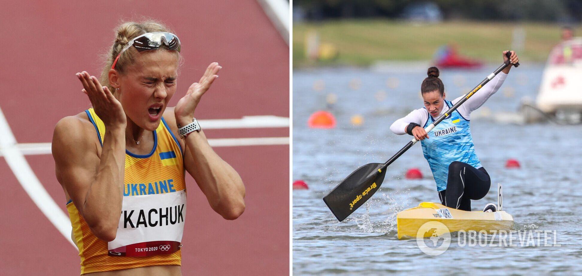 Виктория Ткачук (слева) улучшила свой рекорд, а Людмила Лузан напрямую вышла в полуфинал