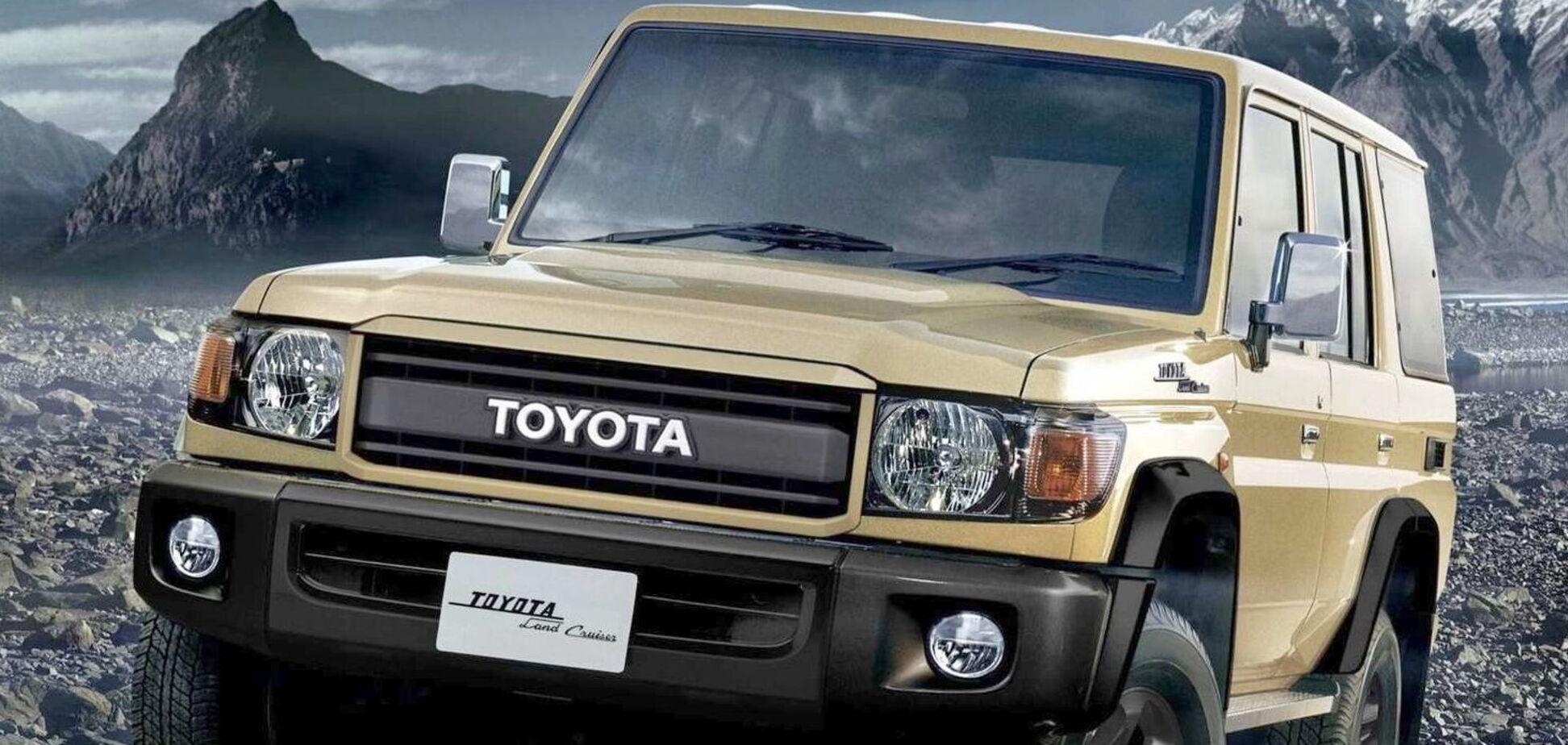 Toyota подготовила к юбилею Land Cruiser особую версию