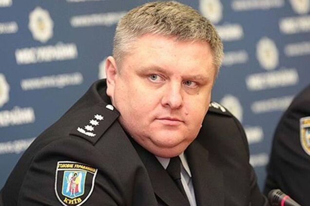 Глава полиции Киева написал рапорт об отставке: подробности
