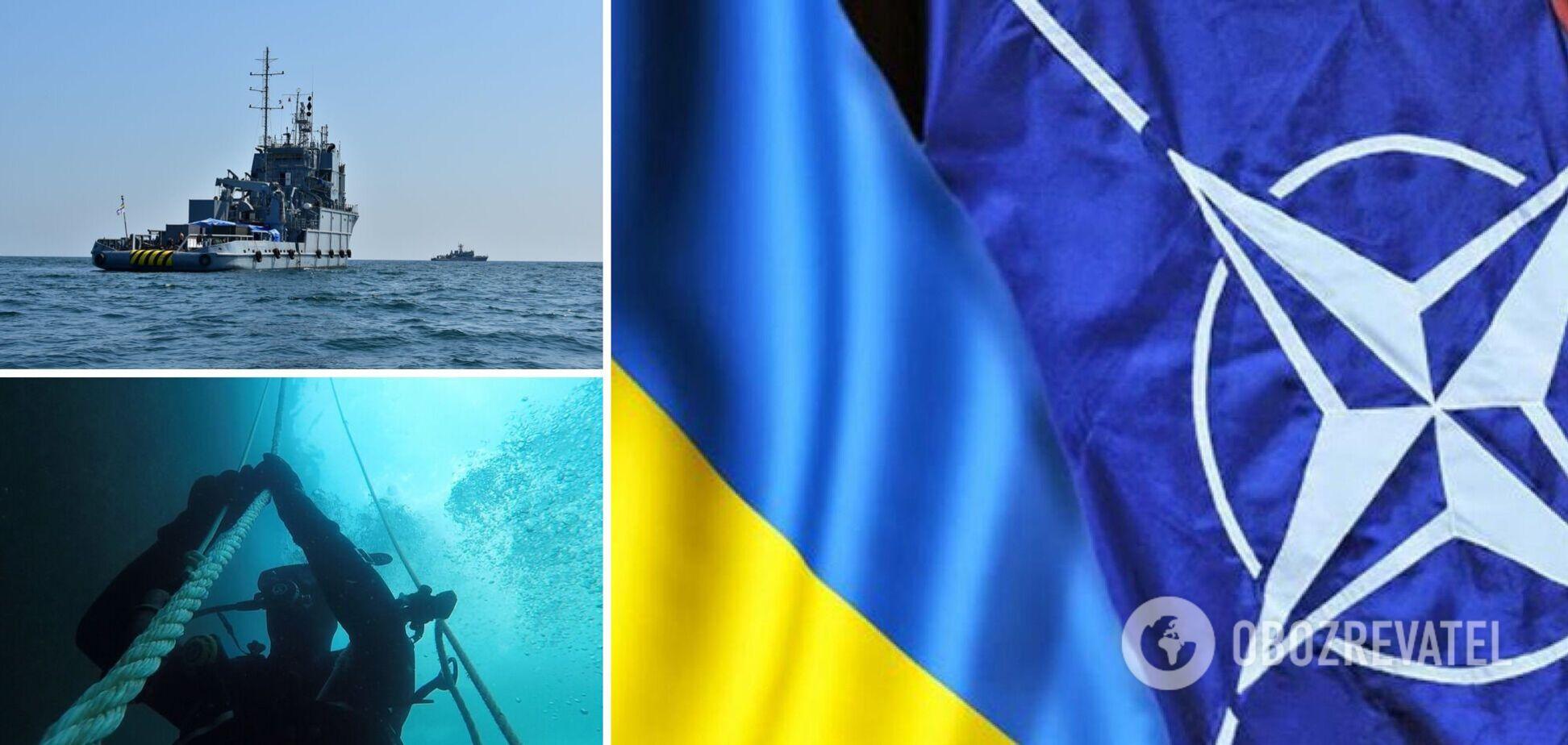 В Черном море стартовали военные учения с участием Украины и НАТО. Фото