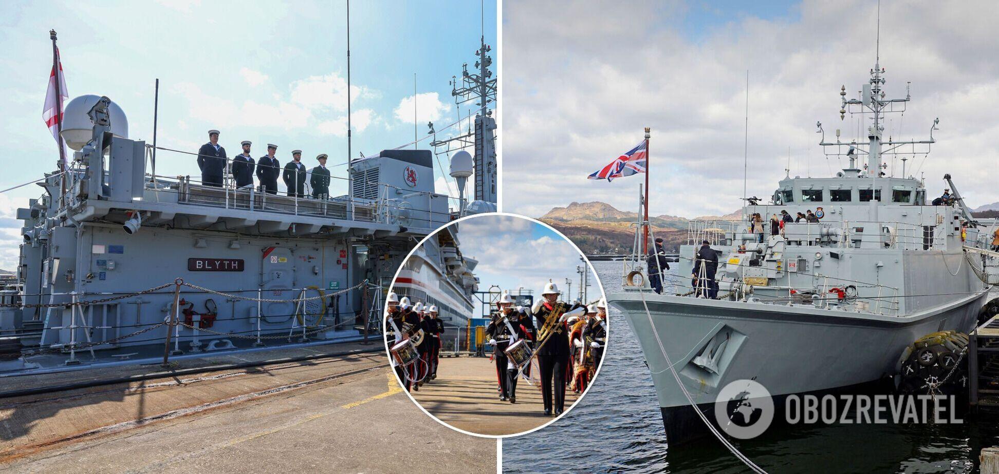 Британия передаст Украине два противоминных корабля класса Sandown
