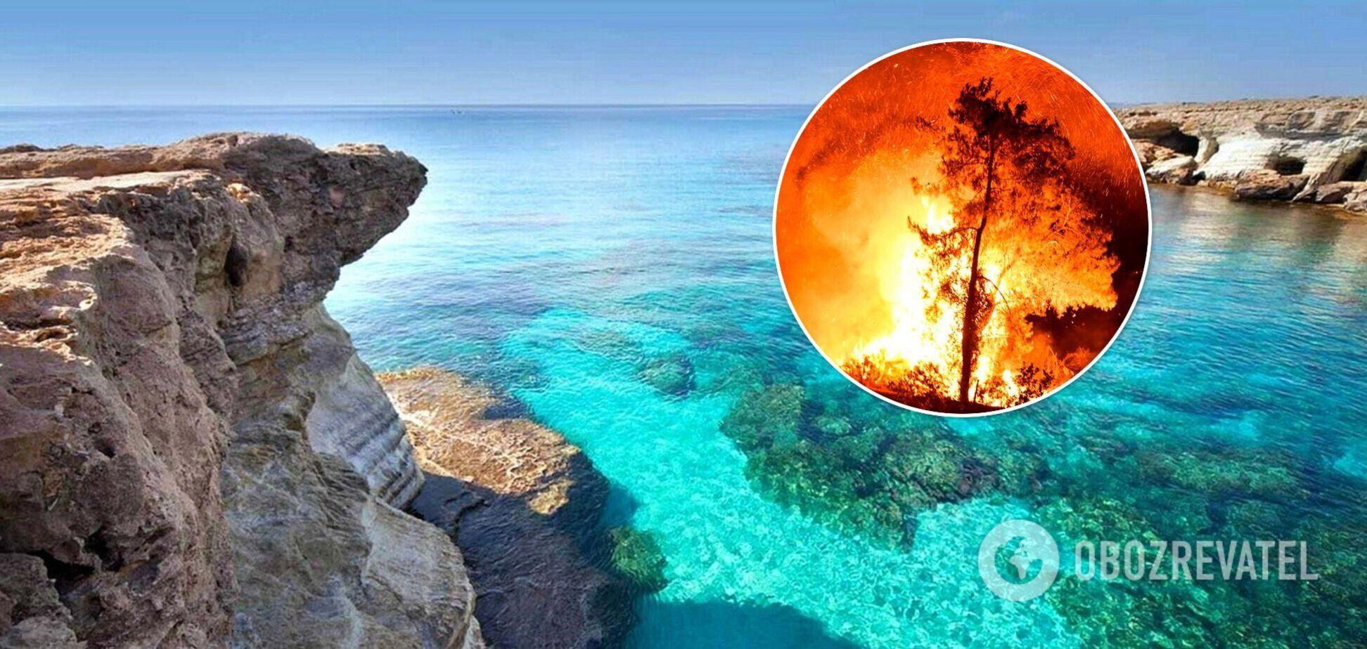 В Турции из-за пожаров море покрылось осадками. Фото