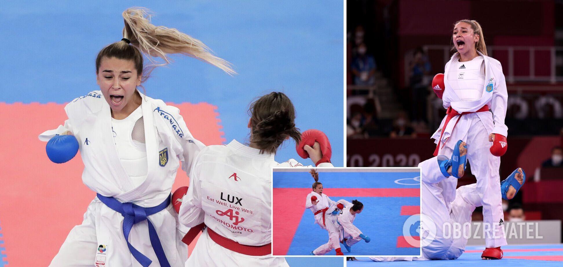 Каратистка Терлюга принесла Украине третье 'серебро' на Олимпиаде-2020