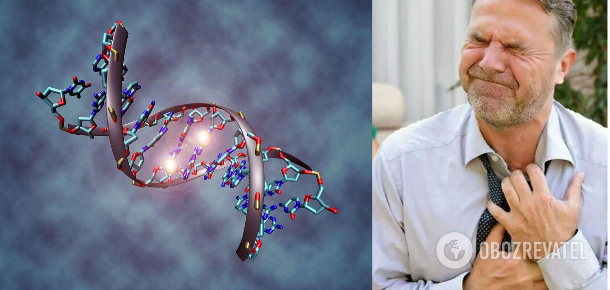 Виявлено сигнатури ДНК, пов'язані з серцевими захворюваннями