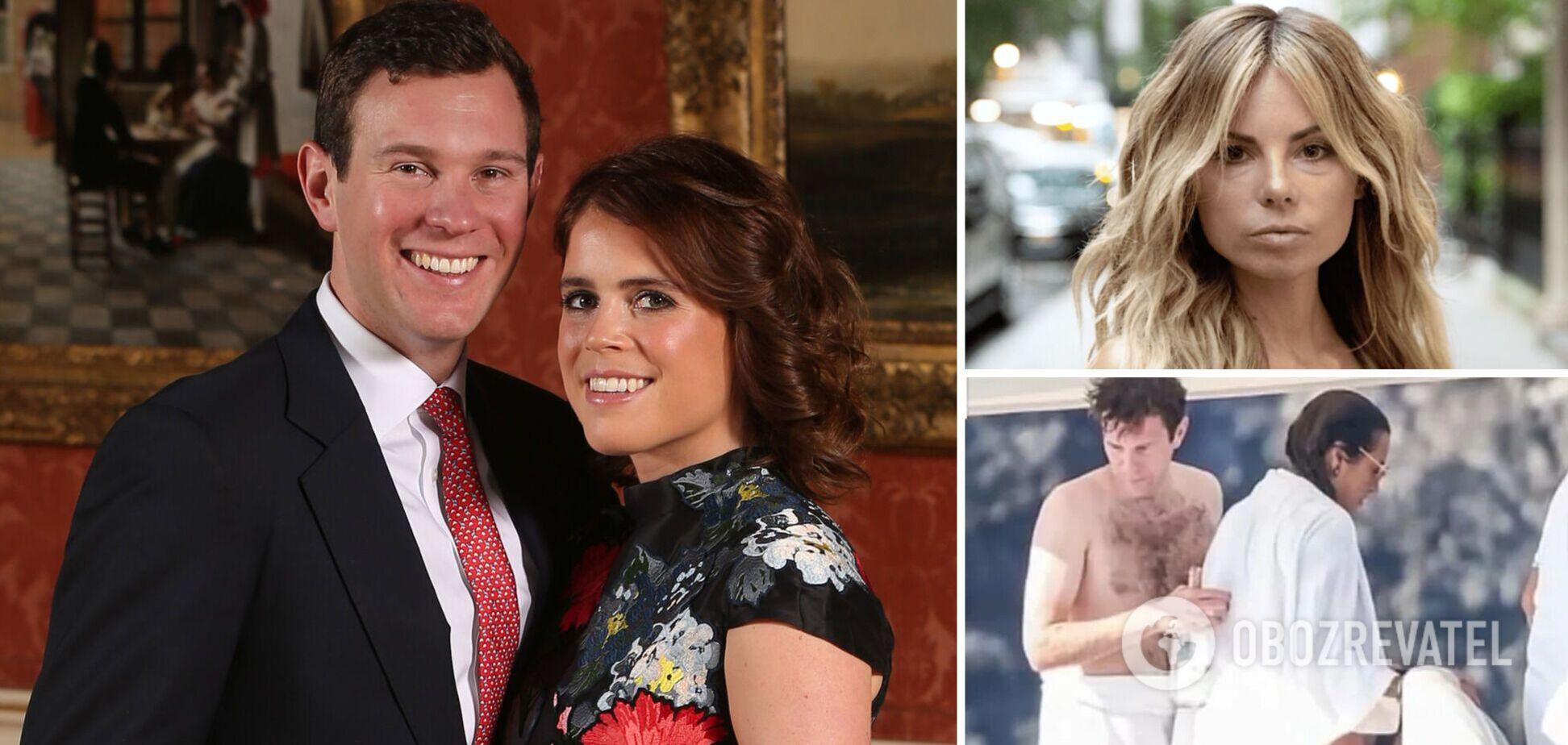 Отдохнувшая с мужем принцессы Евгении полуголая модель отреагировала на скандал