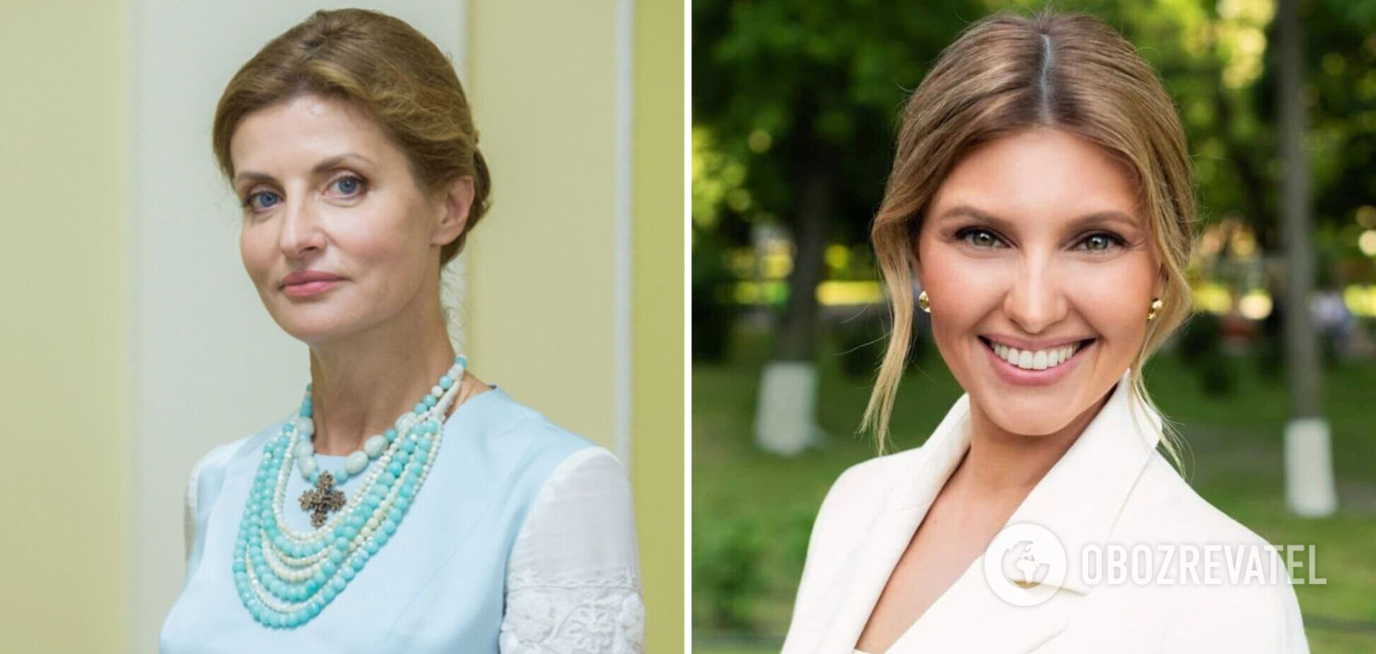 Зеленская vs Порошенко: самые яркие и элегантные образы первых леди Украины. Фото