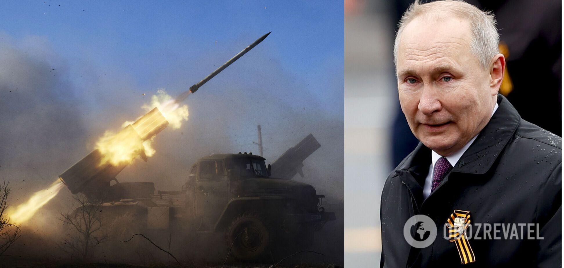 Путин тайно заведет на Донбасс новые вооружения, – Рымарук
