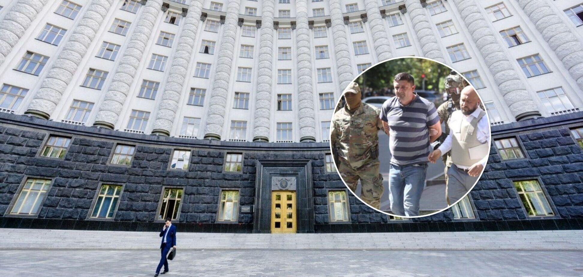 Суд відправив за ґрати ветерана АТО, який погрожував підірвати будівлю Кабміну