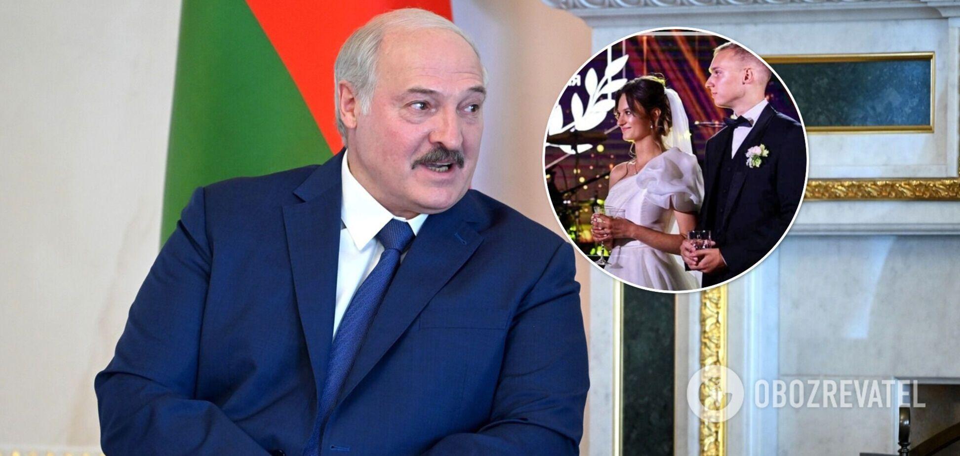 Онучка Лукашенка вийшла заміж: що відомо про її обранця