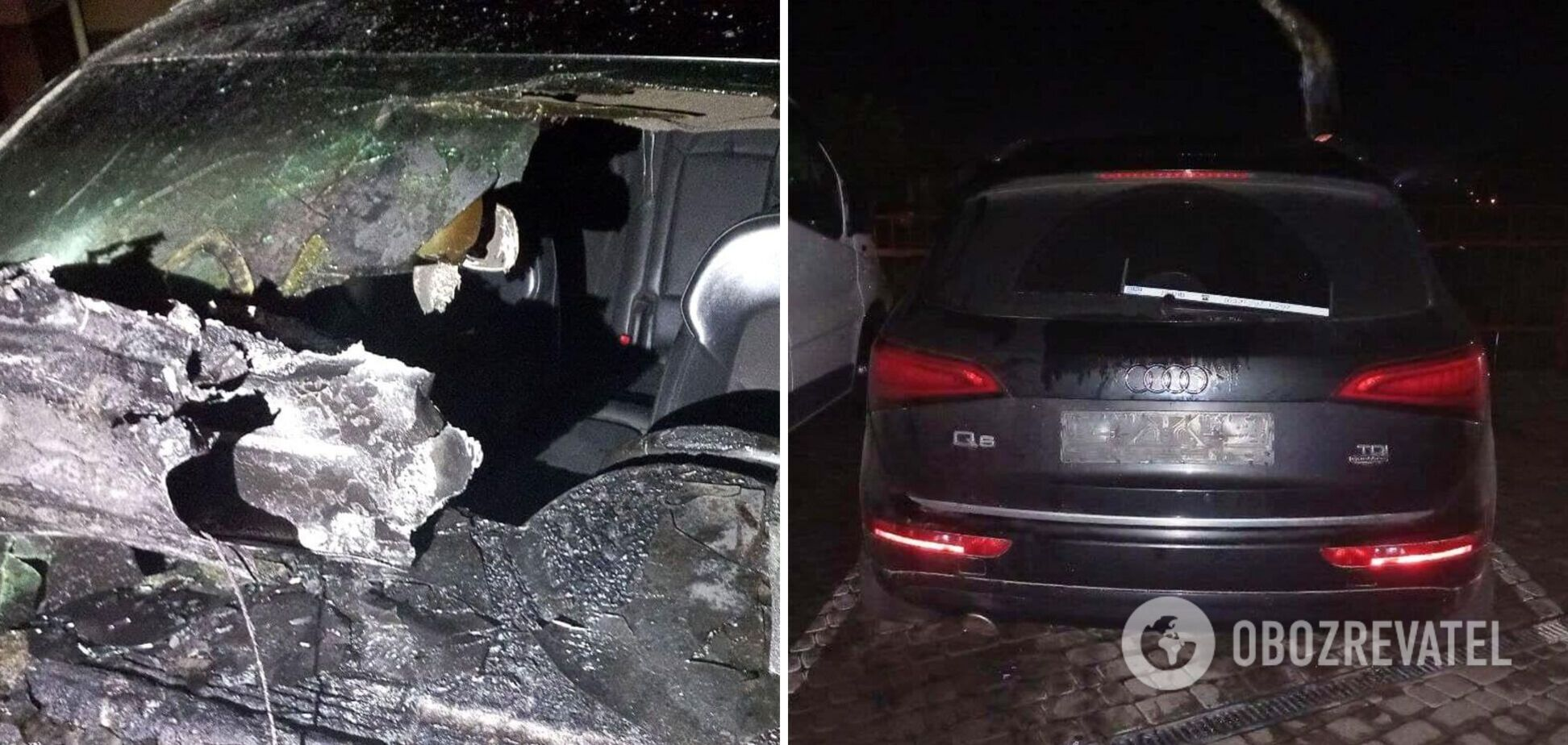 В Ривне неизвестные подожгли машину