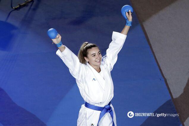 Украинская каратистка вышла в полуфинал Олимпиады-2020, обеспечив себе медаль