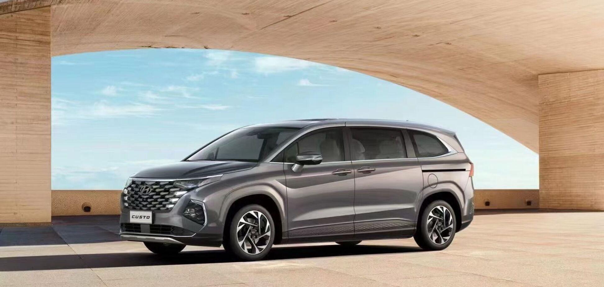 Hyundai презентовал новый минивен Custo