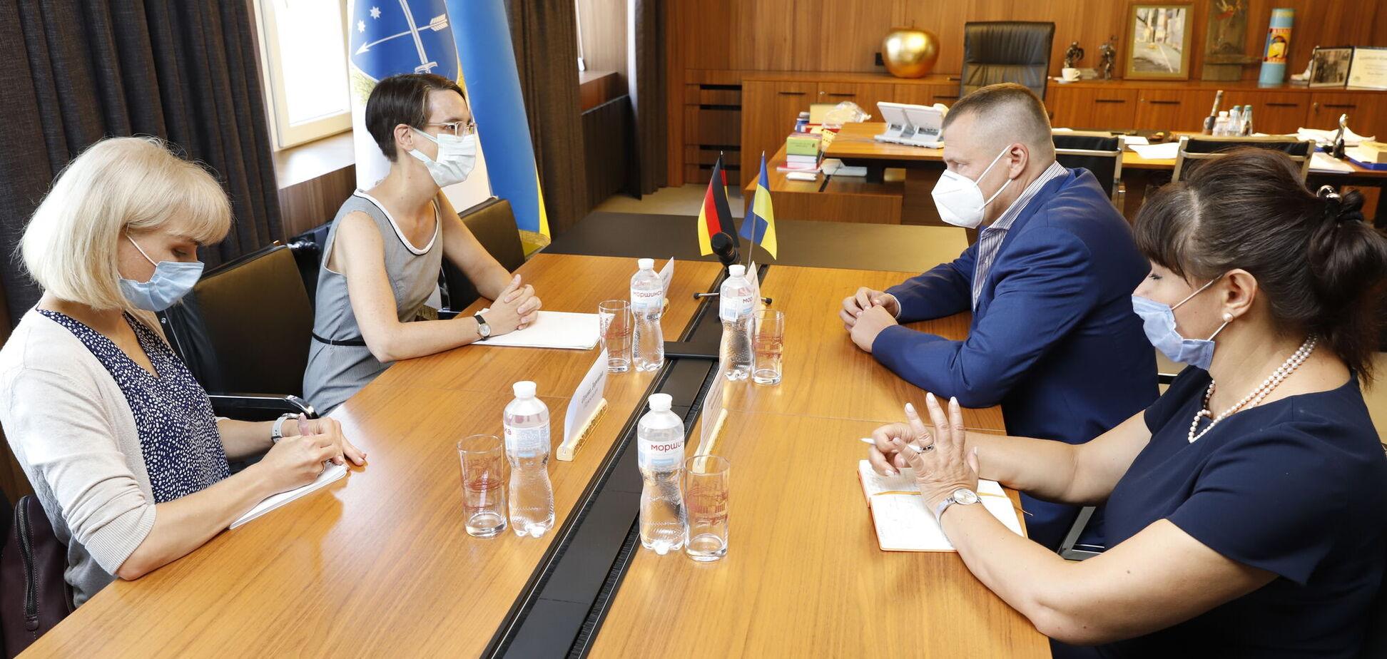 Борис Филатов встретился с новоназначенным Генконсулом Германии Таней Байер