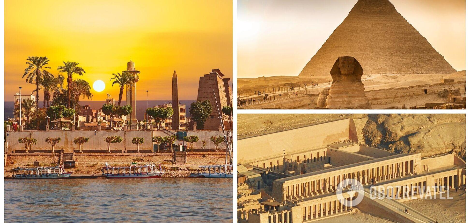 12 найпопулярніших визначних пам'яток Єгипту: гід для туриста