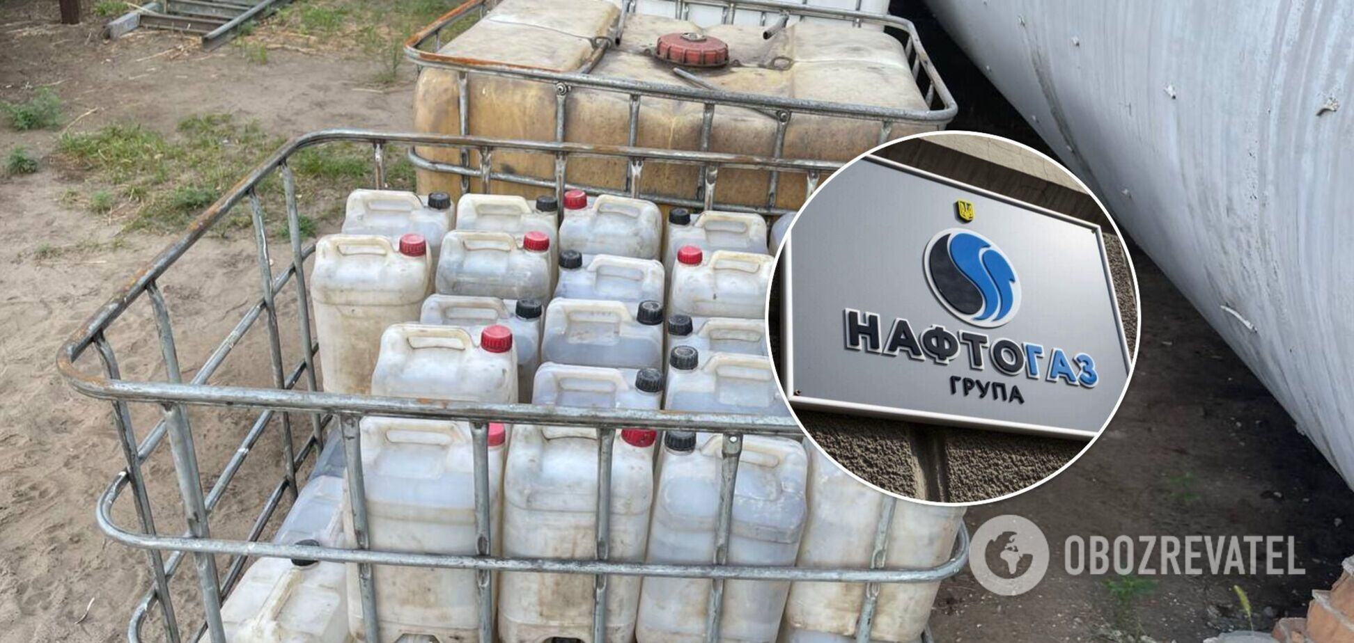 Из нефтепродуктопровода на Полтавщине воровали сырье