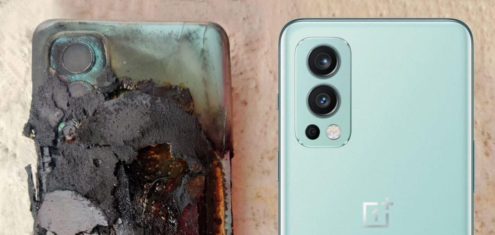 Телефон вибухнув у кишені