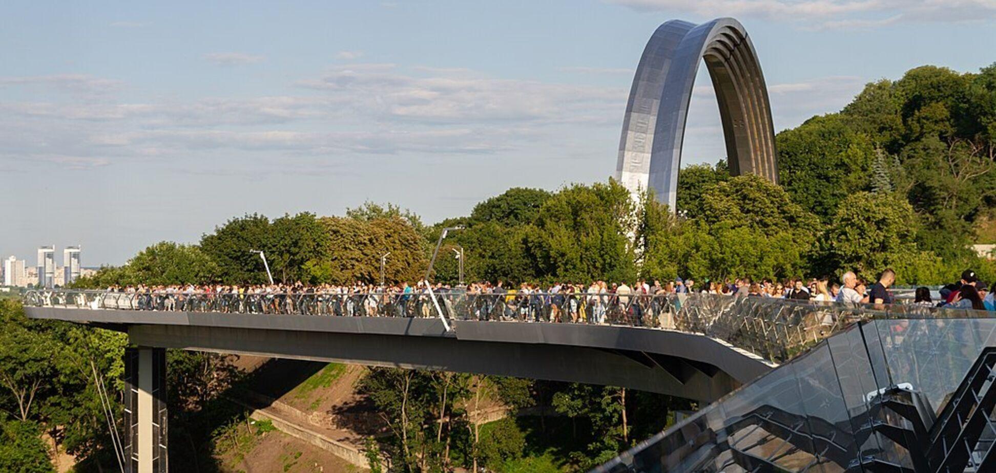 Мост Кличко может получить престижную награду от ЕС в области архитектуры