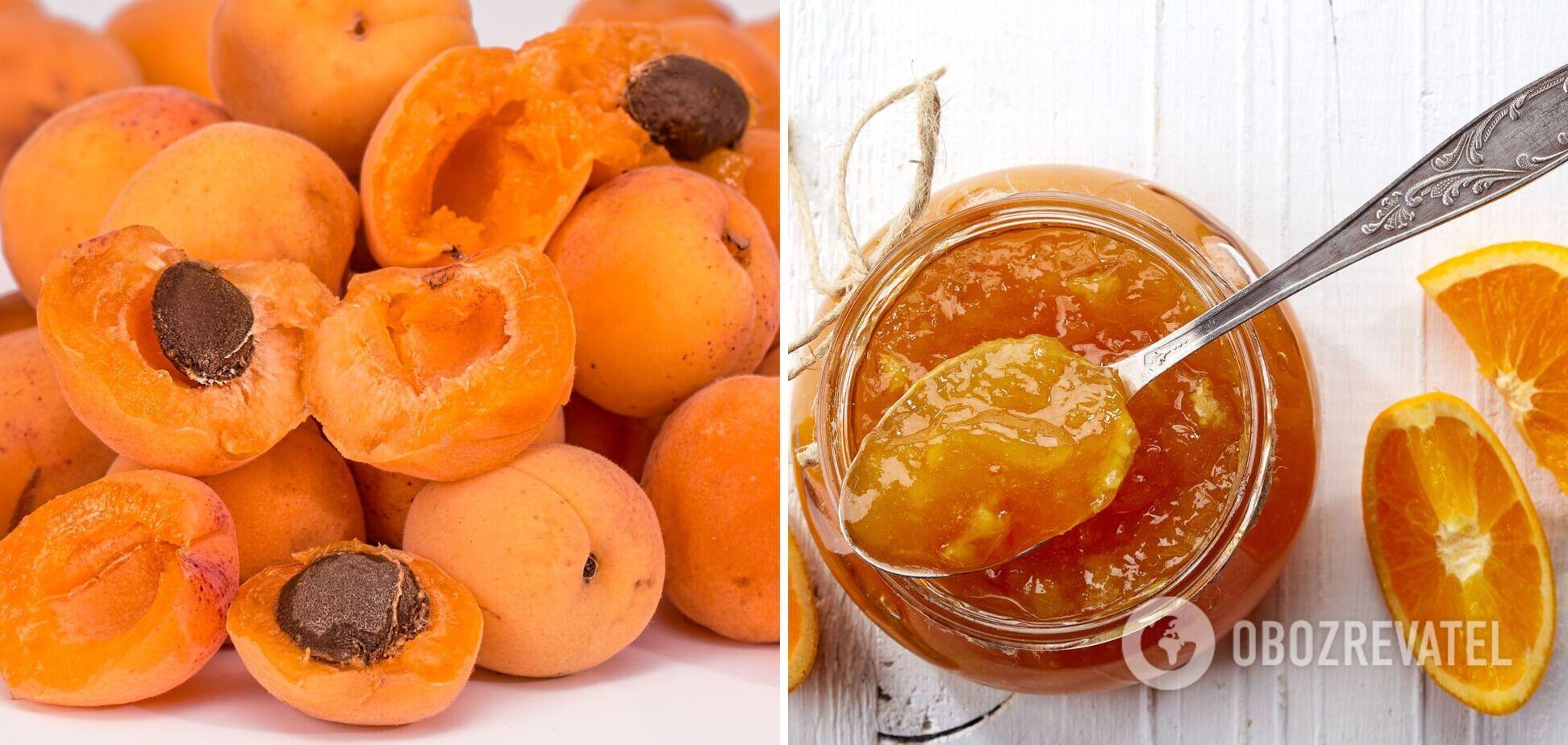 Как дома сварить вкусное абрикосовое варенье с апельсинами