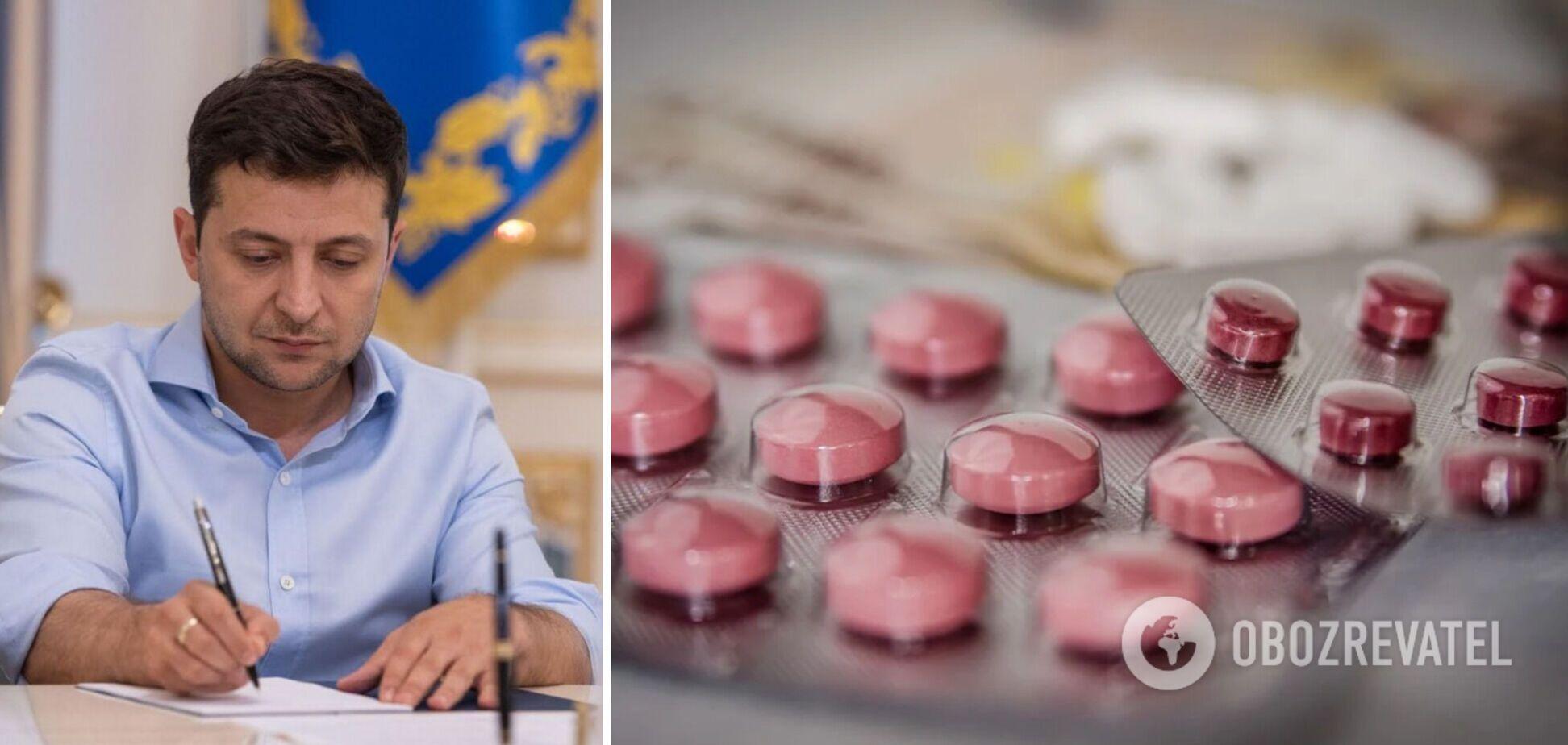 Президент поддержал запрет продажи лекарственных средств детям