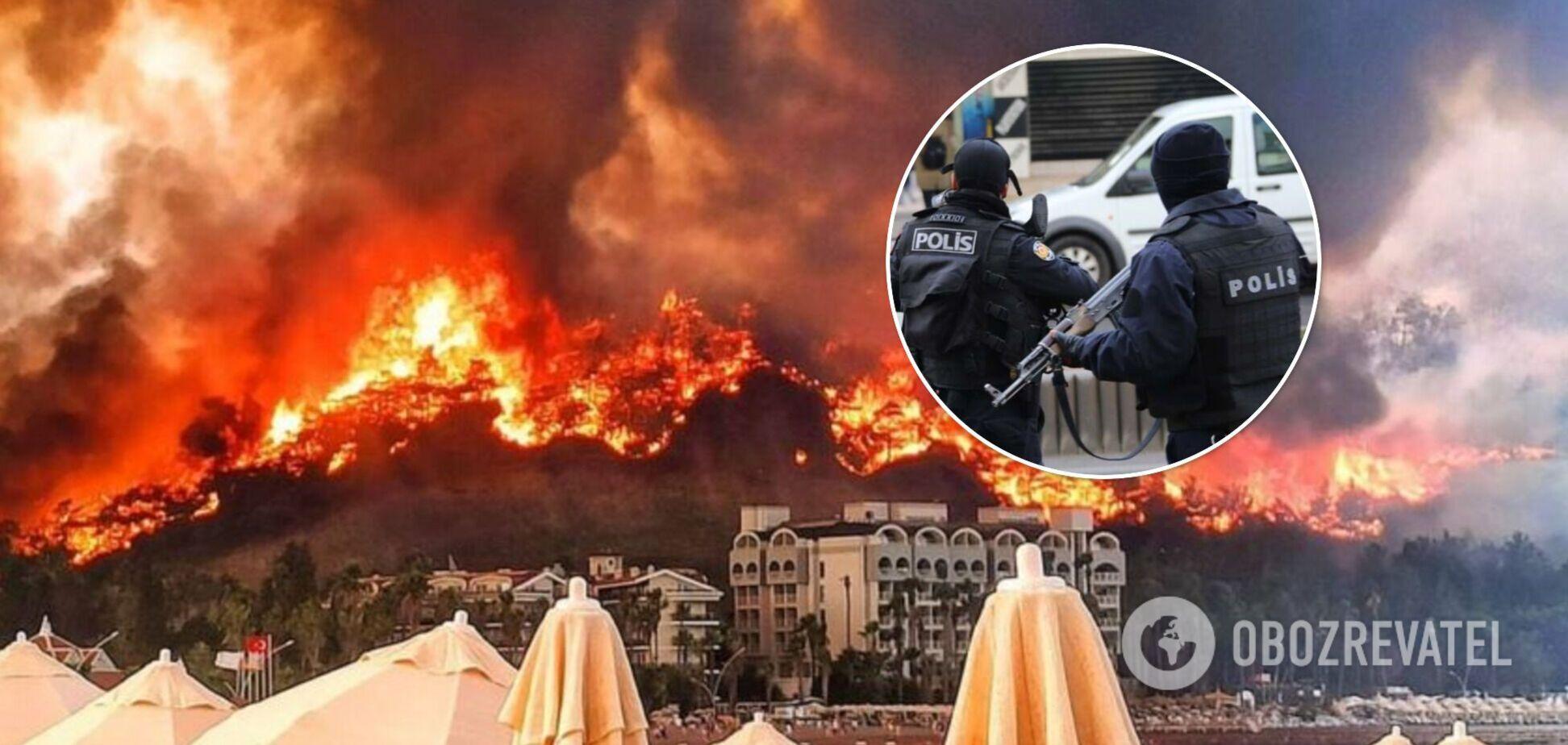 В Турции арестовали подозреваемых в умышленном поджоге лесов