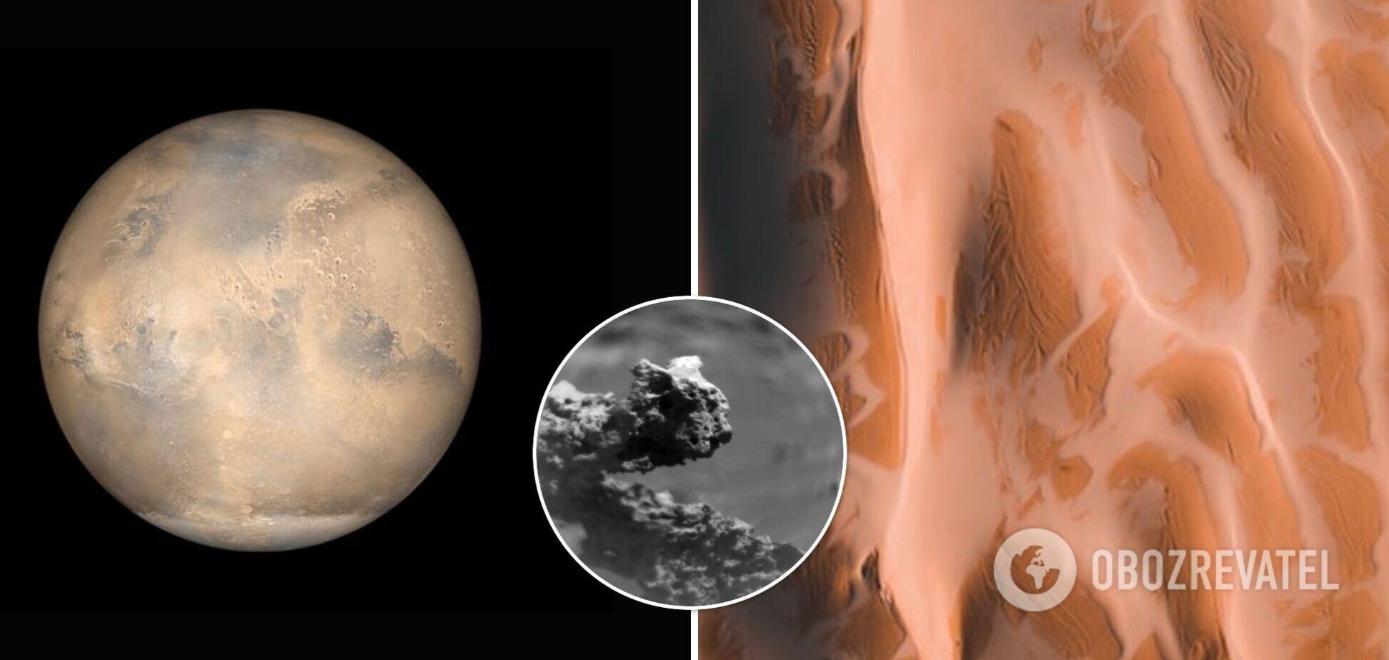 Марсоход Curiosity обнаружил на Марсе загадочную структуру, напоминающую по форме ящерицу. Фото