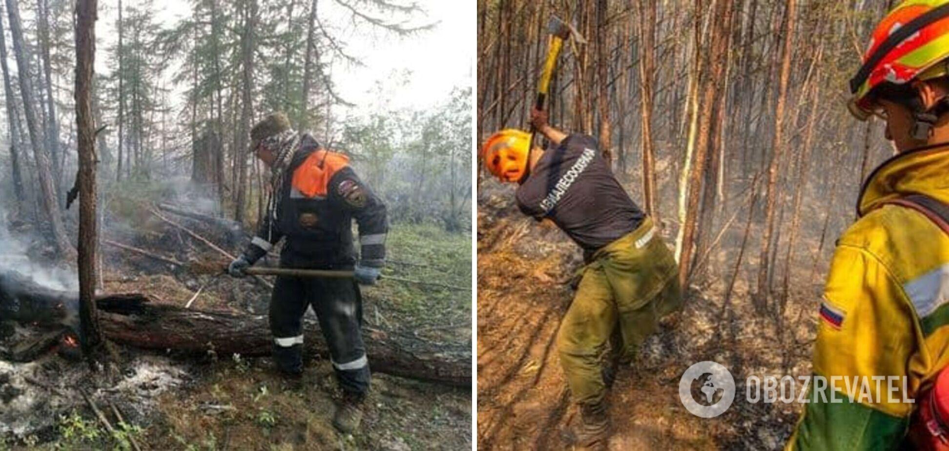 У Росії гасять лісові пожежі