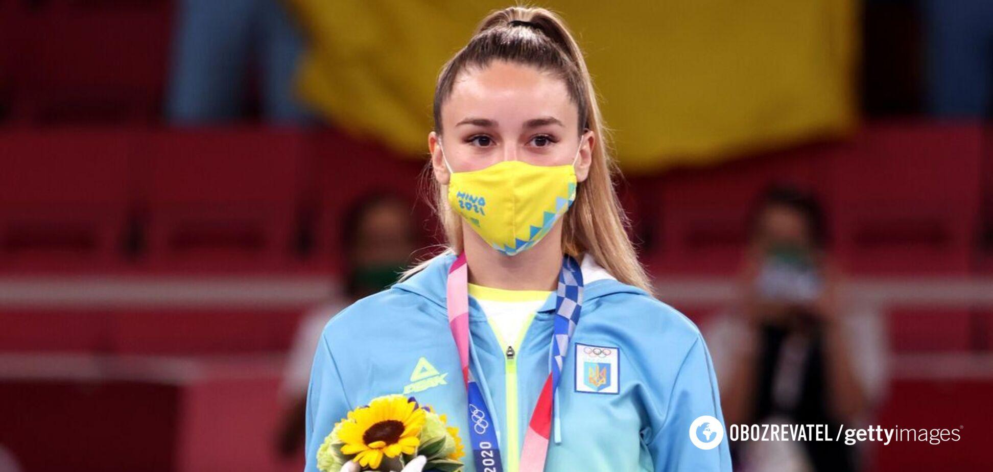 'Вибачте, що не 'золото': каратистка Терлюга звернулася до українців після фіналу Олімпіади-2020