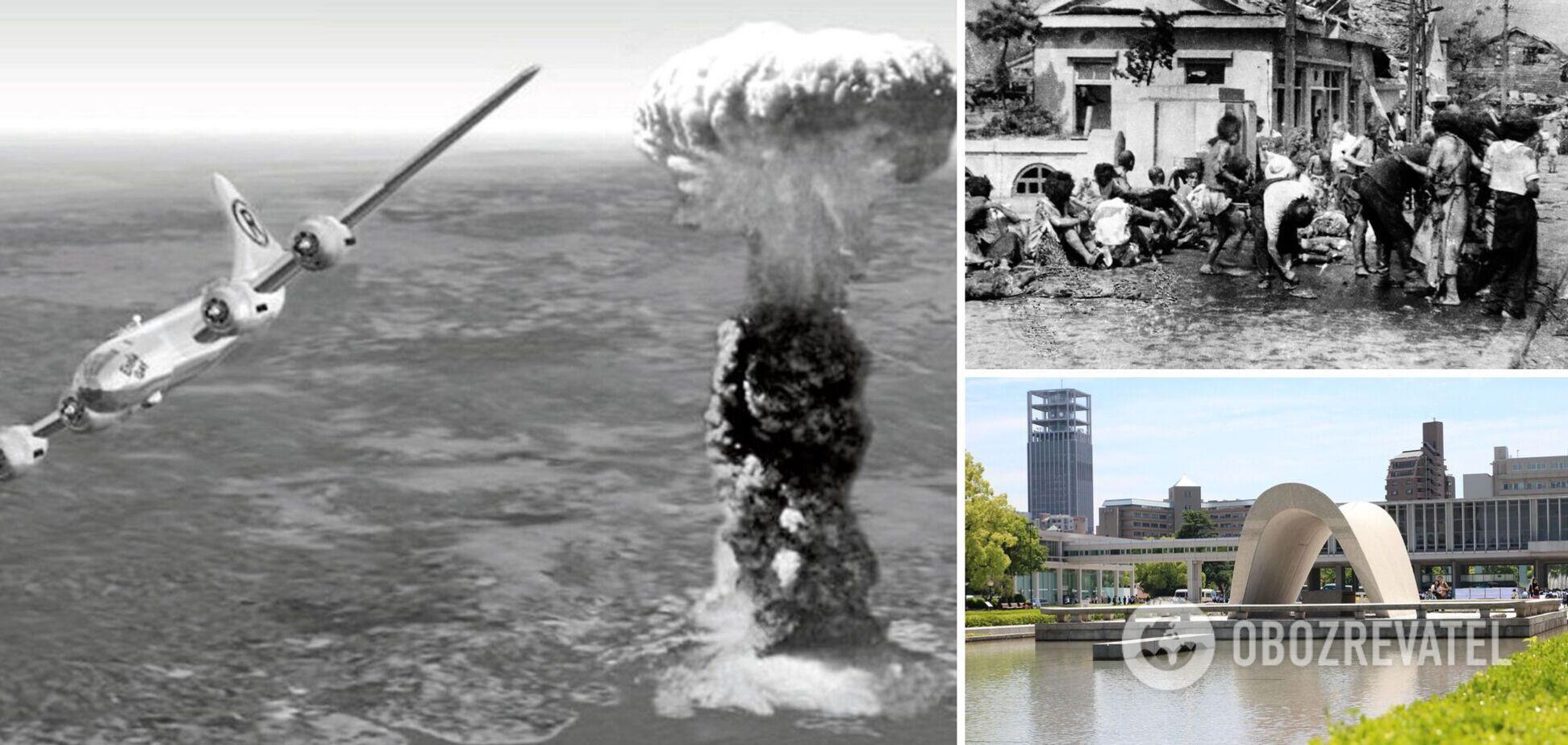 Хиросима - бомбардировка