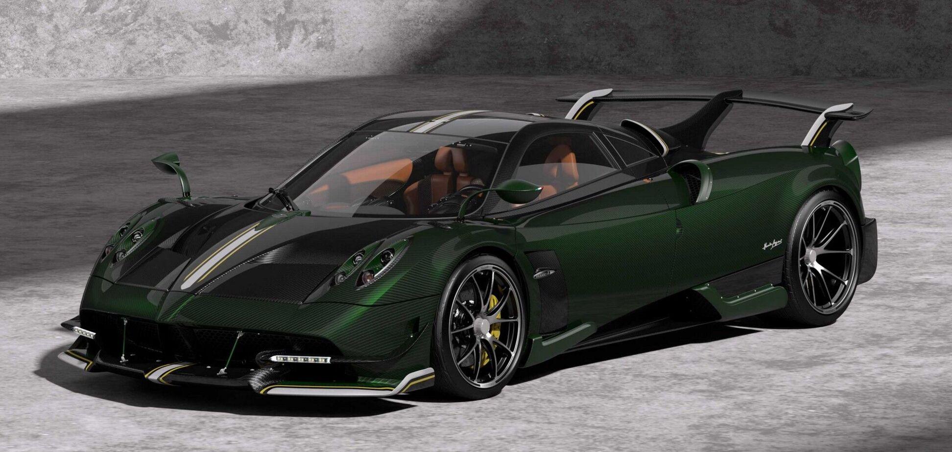 Pagani привезет на фестиваль в Калифорнии новый суперкар