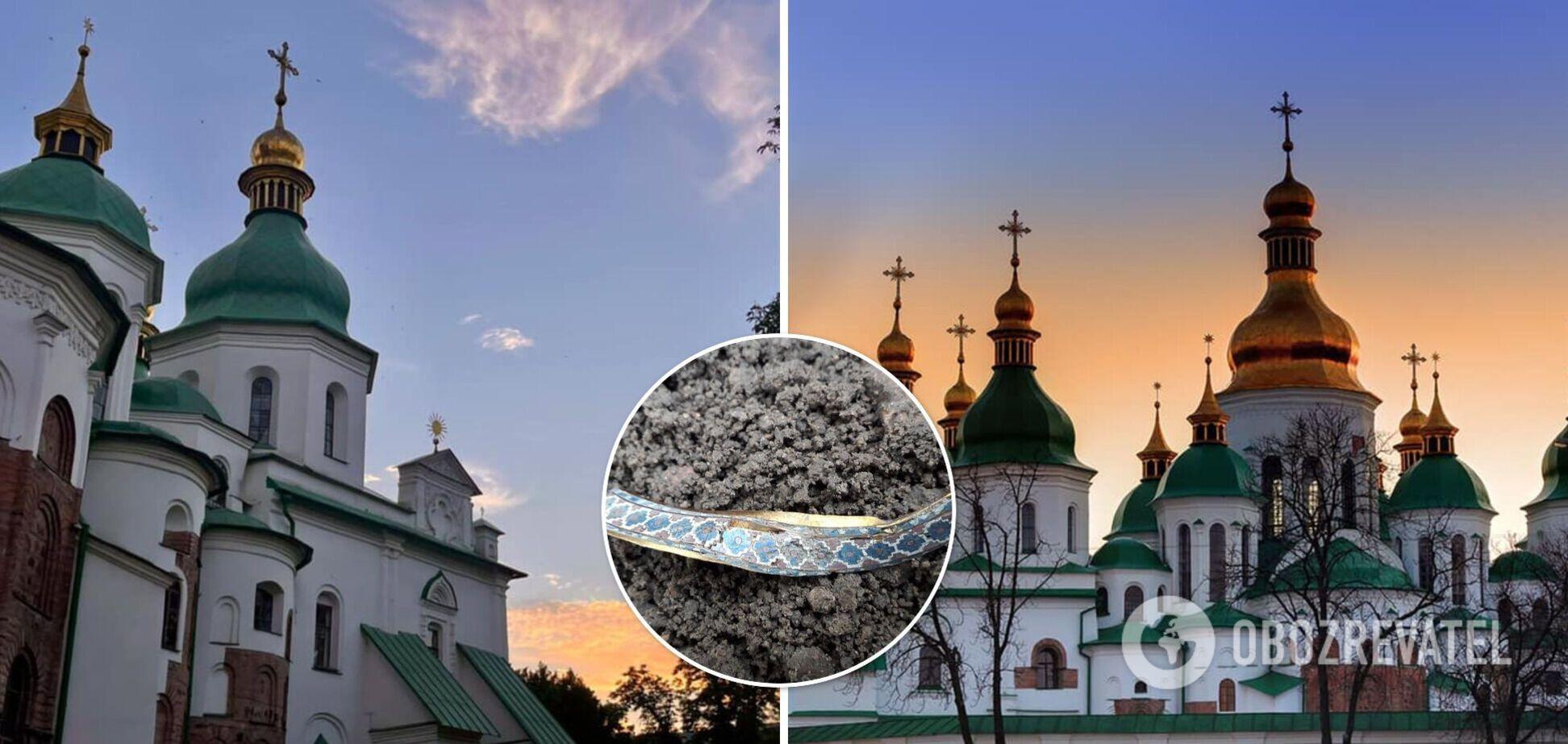 Археологічна знахідка біля Софії Київської