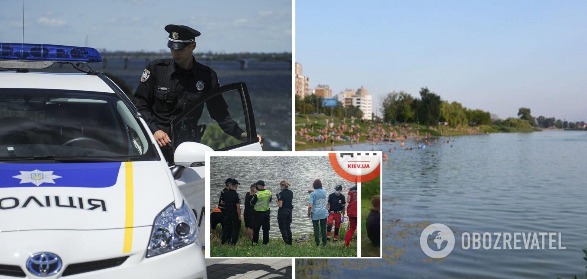 У Києві на озері потонула вагітна жінка. Фото