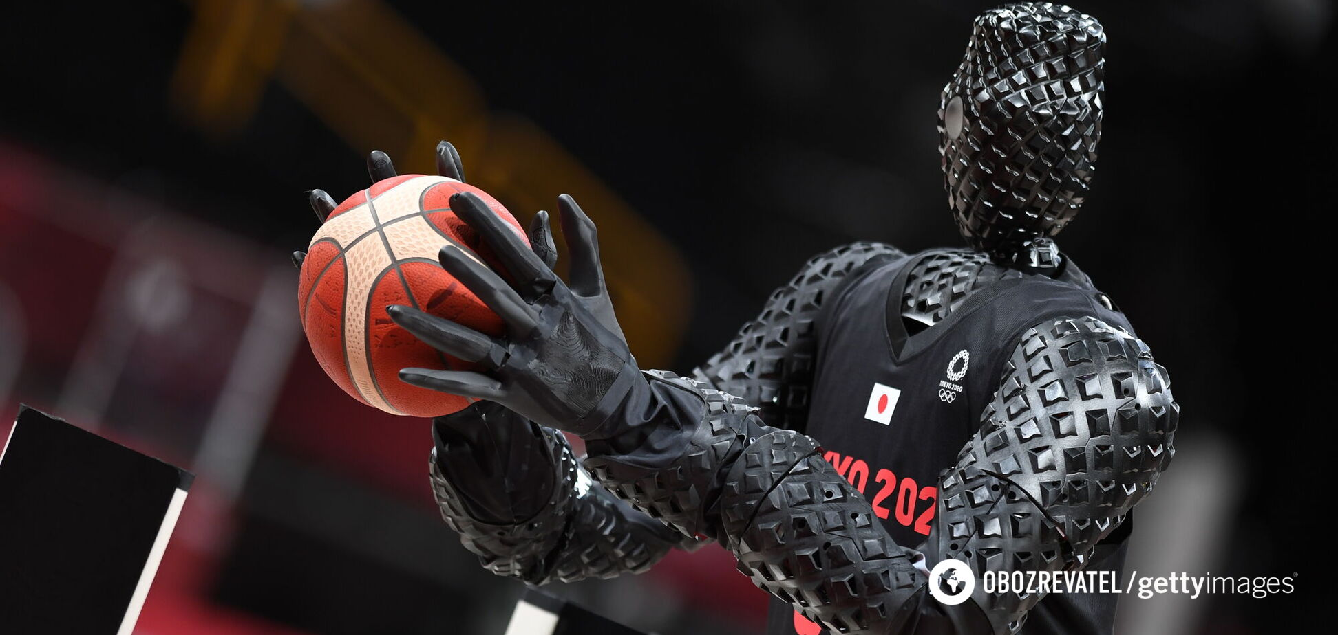 Робот-баскетболіст показав ідеальну точність на Олімпіадi-2020
