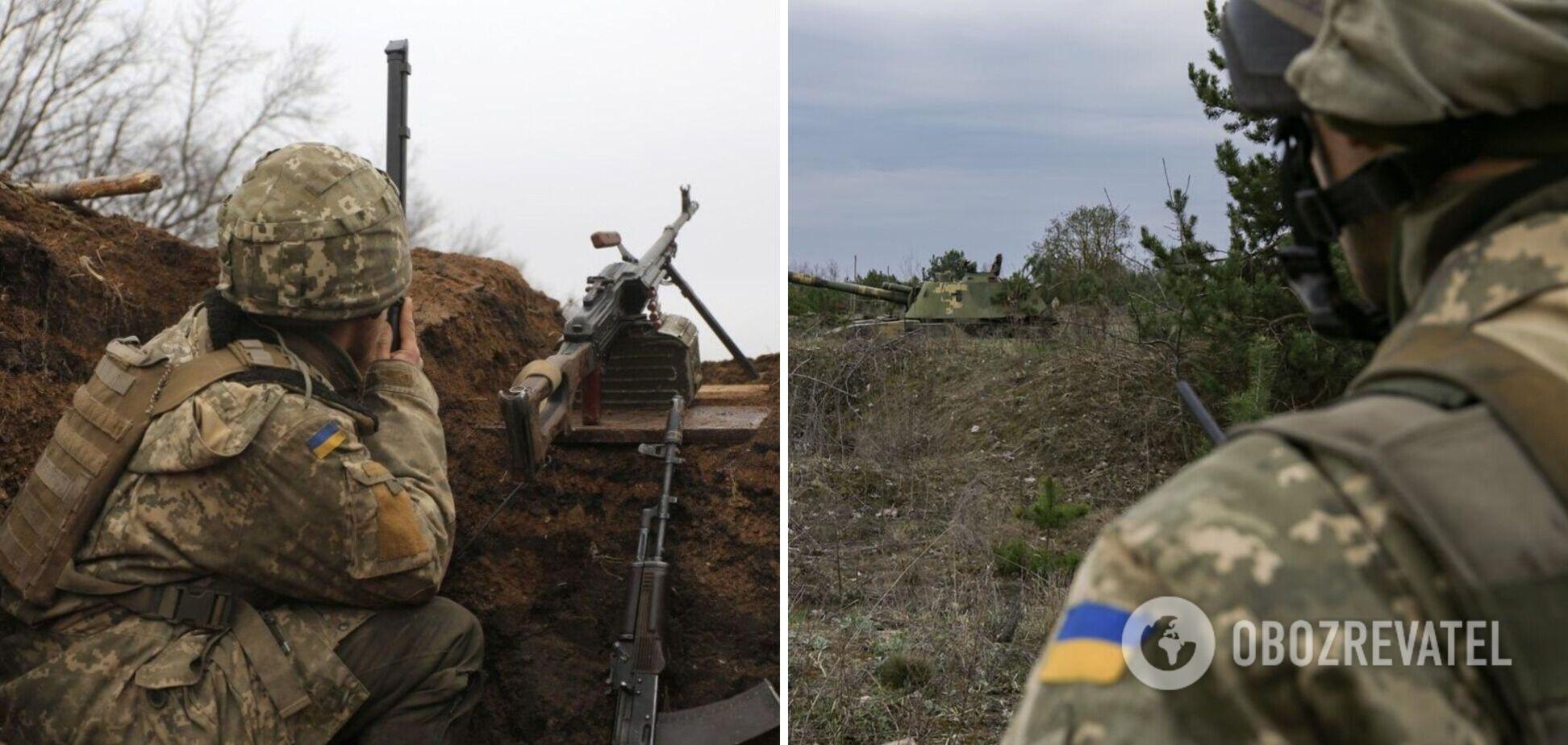 Наемники РФ обстреляли позиции ВСУ на Донбассе из минометов и гранатометов
