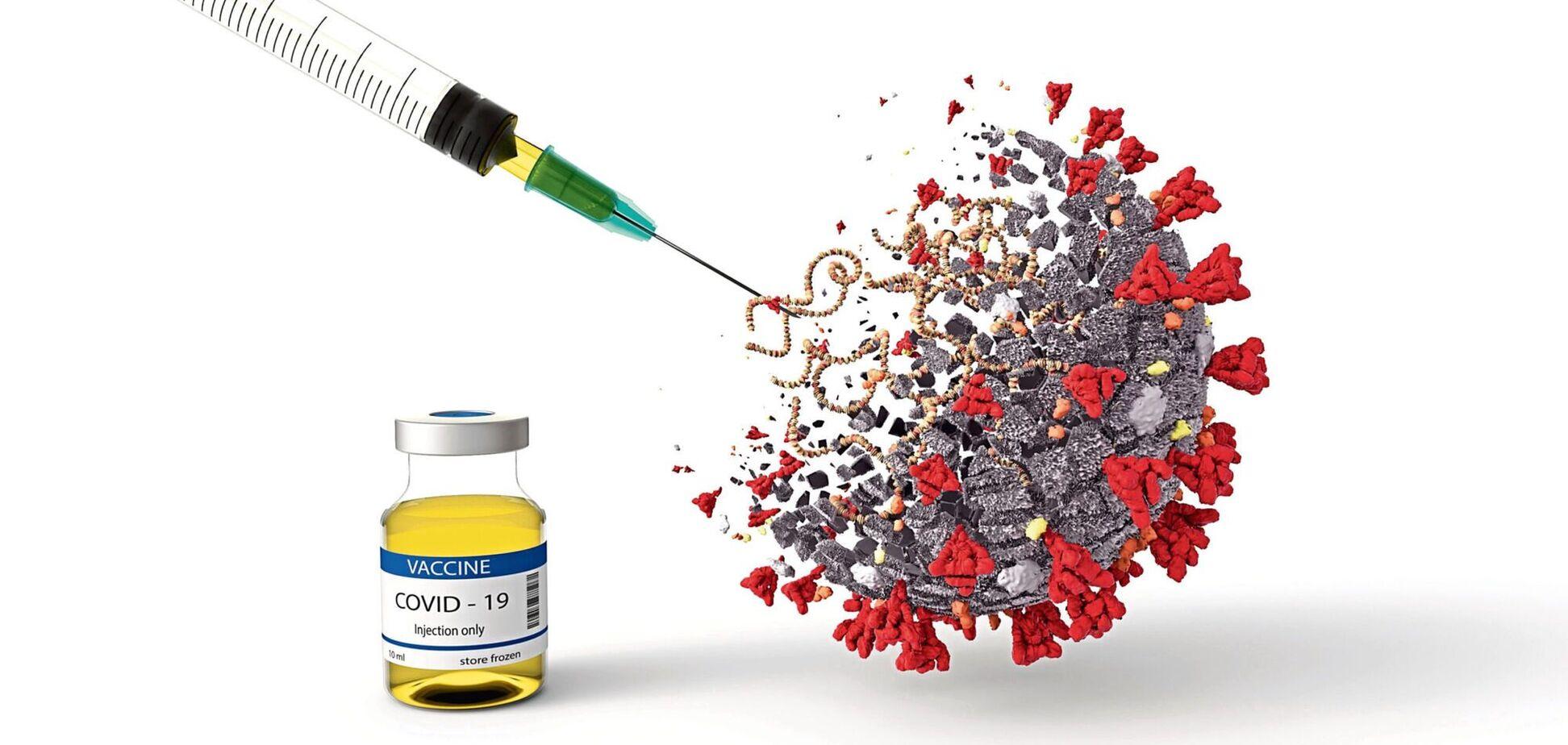 Коронавірус вакцинацією не зупинити, у всякому разі поки що
