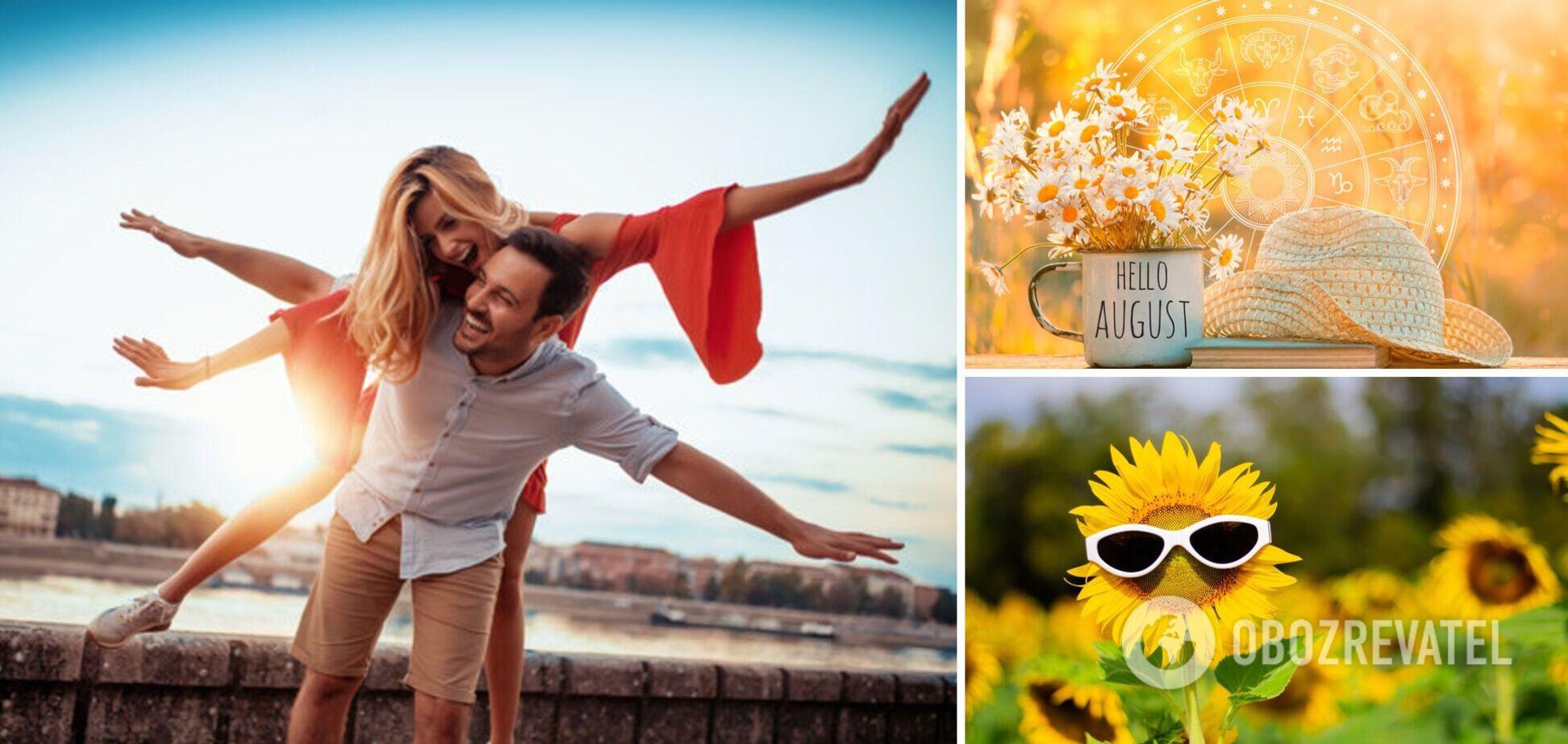 Три знака зодиака ждет везение в делах и любви: август принесет им настоящее счастье