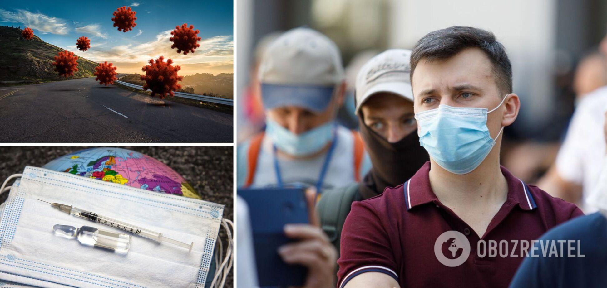 На Львовщине подтверждено семь случаев штамма Дельта: больные приехали из РФ и Британии