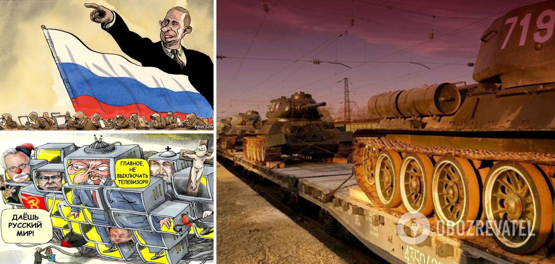 На просторах России потянуло 'рязанским сахарком'. Вместо Чечни – Украина?
